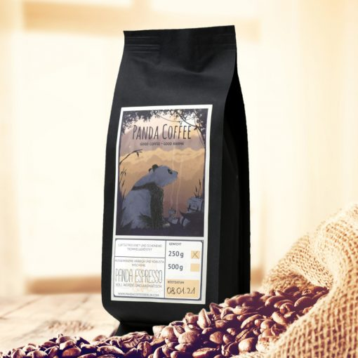 Panda Espresso Produktpäckchen